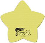 25 Sheet 3 x 3 Star Sticky Notes